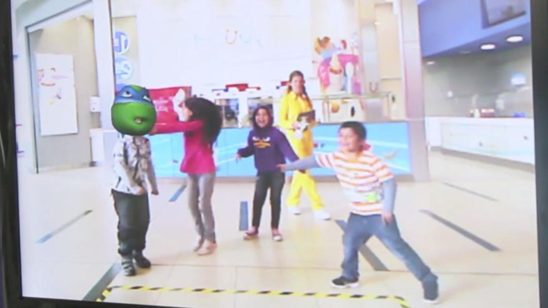 Proyecto Kinect TMNT