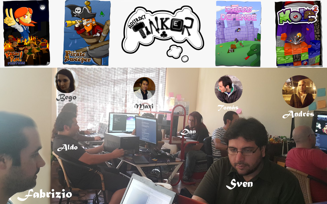 El Equipo Abstract Pixels