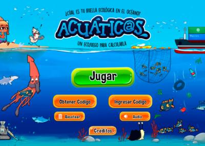 Ecojuego Acuaticos [HTML5-Educativo]